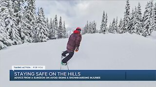 Staying safe skiing and snowboarding