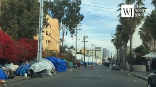 Amazing Dashcam Video Reveals True Reality Of Homelessness In California's Largest City - Video