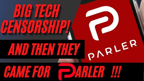 Parler Removed from Apple, Google, and Amazon Servers, Falsely Blamed for January 6th Capital Riot