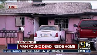 Man found dead inside Phoenix home - Video