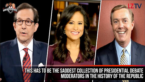 The Worst collection of Presidential Debate Moderators in the History of the Republic