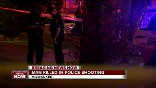 Milwaukee Police officers shoot, kill armed suspect - Video