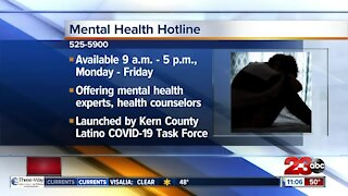Kern County Latino Task Force launches mental health hotline