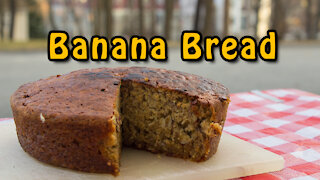 Dutch Oven Banana Bread