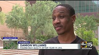 Man freed after being arrested at home raided by law enforcement.