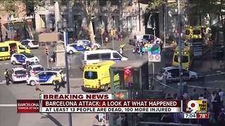 Barcelona attack: a look at what happened - Video