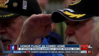 Honor Flight 32 comes home - Video