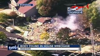Body recovered from rubble of exploded Madison house
