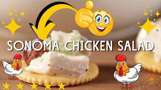Mouthwatering Sonoma chicken salad recipe