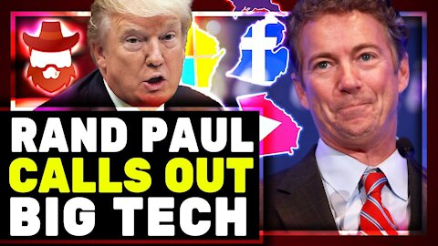 "Rand Paul BLASTS Big Tech & Shares New Suspicious Voting Data! Mass Vote ""Dumps"" In 4 Major States"