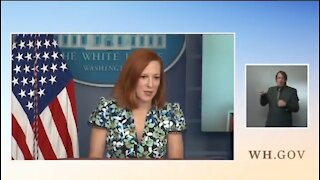 Psaki Defends Communist China's Taking Points That America Is Racist