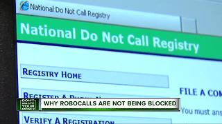 Why robocalls are not being blocked - Video