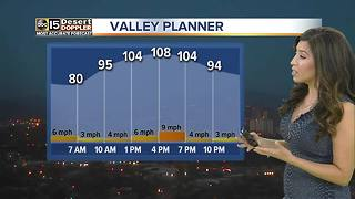 Excessive heat warning issued until Monday night