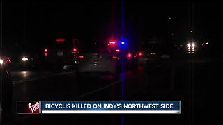 Cyclist hit, killed by vehicle on Indy's NW side identified - Video