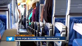 Call 4 Action: Travel insurance tips - Video