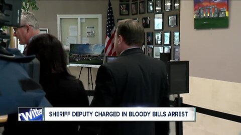 Sheriff Deputy charged in bloody arrest at Bills tailgate