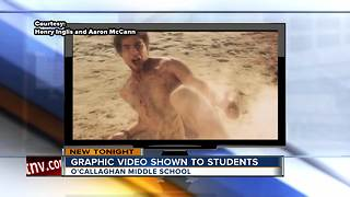 Graphic video shown to Las Vegas 7th graders - Video