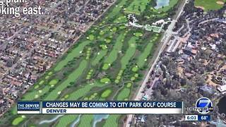 Changes may be coming to City Park Golf Course - Video