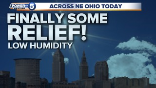 Cleveland Friday morning weather
