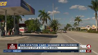 Gas station card skimmer recovered in SWFL - Video
