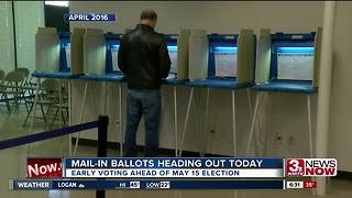 Mail-in ballots heading out for primary - Video
