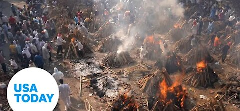 India Covid-19 crisis : oxygen running out, crematoriums overwheled  Today Newss