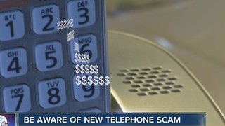 Be aware of new telephone scam - Video