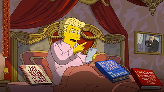 'The Simpsons' Has A Savage Take On Trump's First 100 Days