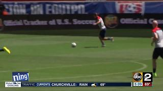 Baltimore could possibly hold a World Cup game - Video