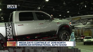 Media days continue at 2019 North American International Auto Show