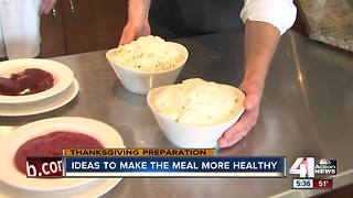 Substitutions, tips for how to have a healthier Thanksgiving meal - Video