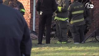 Police: Car fleeing officers crashes into Indiana house - Video