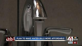 Plan to make water bills more affordable - Video