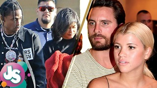 AWKWARD! Kylie Jenner & Travis Scott Run into Scott Disick & Sofia Richie During Date - JS - Video