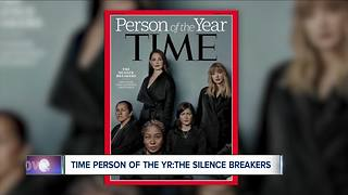 Local advocates react to Time Person of the Year - Video