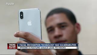 Cyber Security Expert: iPhone X facial recognition is vulnerable - Video