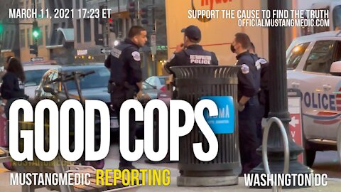 Mental distress in DC Police are professional all is good