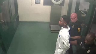Howell Emanuel Donaldson III, suspected Seminole Heights killer booked into jail - Video