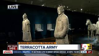 Terracotta Army: See one of the world's greatest archeological discoveries without having to leave Cincinnati - Video