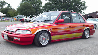 Father & Son Build Incredible Honda Civic Lowrider | RIDICULOUS RIDES