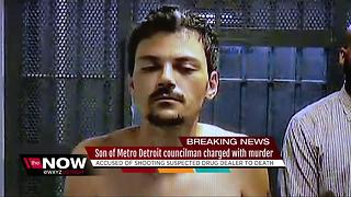 Son of metro Detroit councilman charged with murder - Video