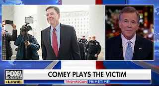 James Comey plays victim in self-pitying Washington Post op-ed
