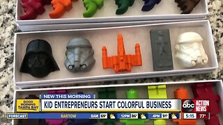 Tampa boys start crayon business to help kids with allergies