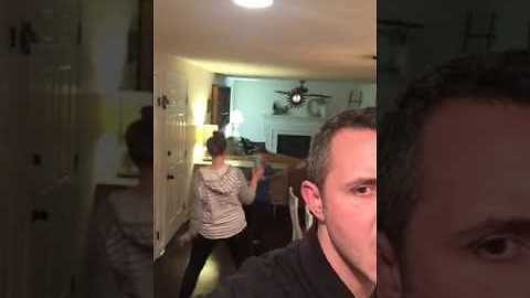 Cheeky Husband Secretly Films Wife's Dance Moves - Video