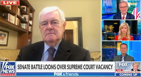 Newt Gingrich: Dems will alienate voters if they attack Coney Barrett like they did Kavanaugh