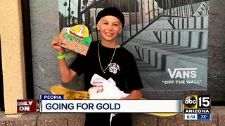 Young Valley skateboarder hopes to one day compete in Olympics