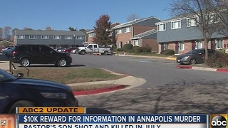 $10K reward for Annapolis man's murder - Video
