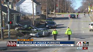 Police chases can lead to lawsuits, property damage - Video