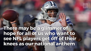 Rapper Ice Cube Sends Bold Message To Those Attacking Cowboys Qb For Defending Anthem - Video