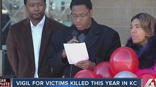 Families remember those lost to violence in 2016